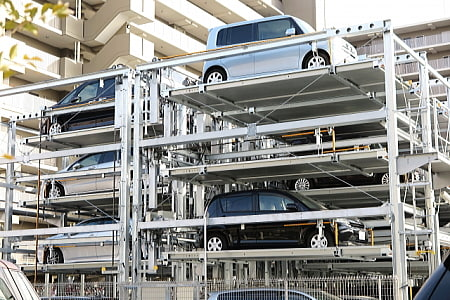 機械式駐車場,マンション,デメリット