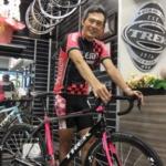 鶴見辰吾,自転車やめた