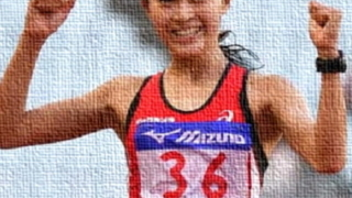 岡田久美子,競歩