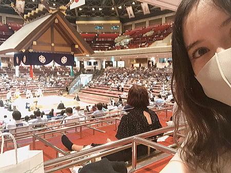 相撲ファン,芸能人,市川紗椰