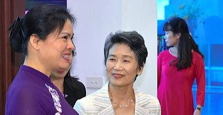 菅総理夫人,家族